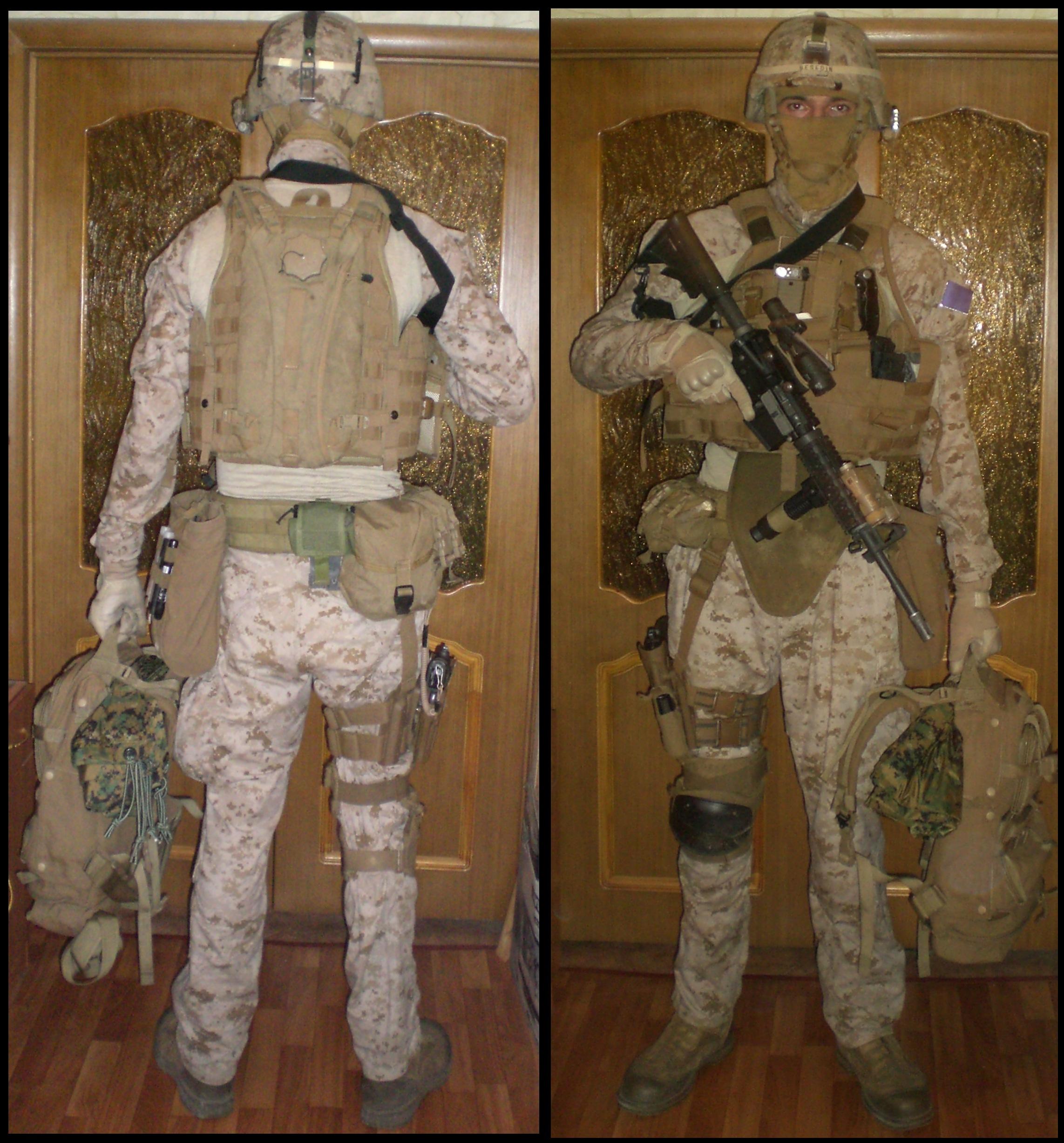 Kit List на Helmand недоспецназ перепехота Bes Po2