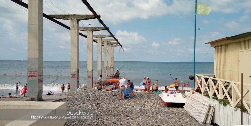 Адлер пляж Чайка (7)
