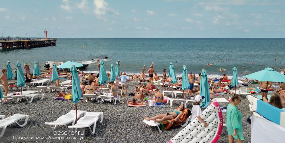 Адлер пляж Чайка (13)