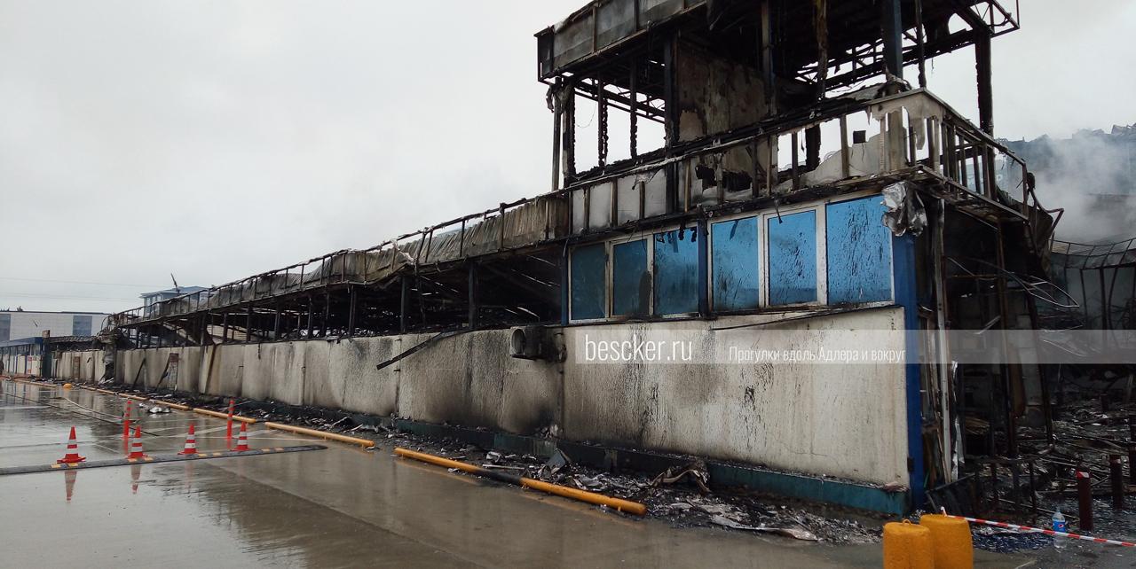 Пожар в Адлере 14 февраля (2)