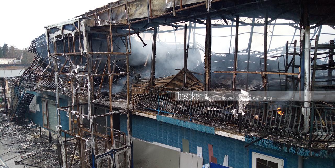 Пожар в Адлере 14 февраля (9)