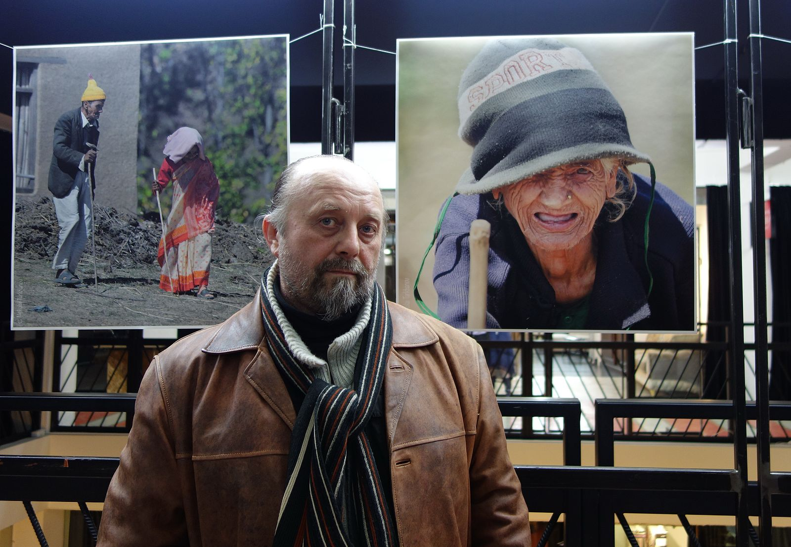 На выставке Н.Тарханова (23.03.2013)