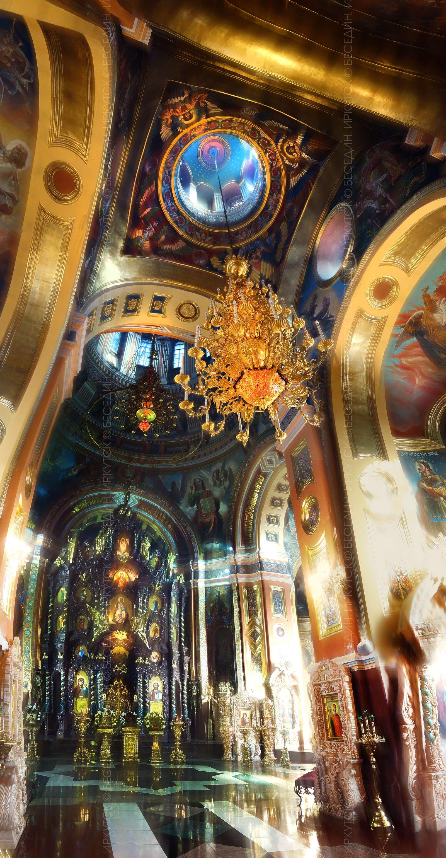 Казанский собор, Иркутск, интерьер