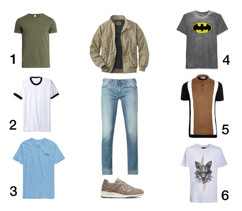 комплект мужской весенний цветотип кроссовки New Balance