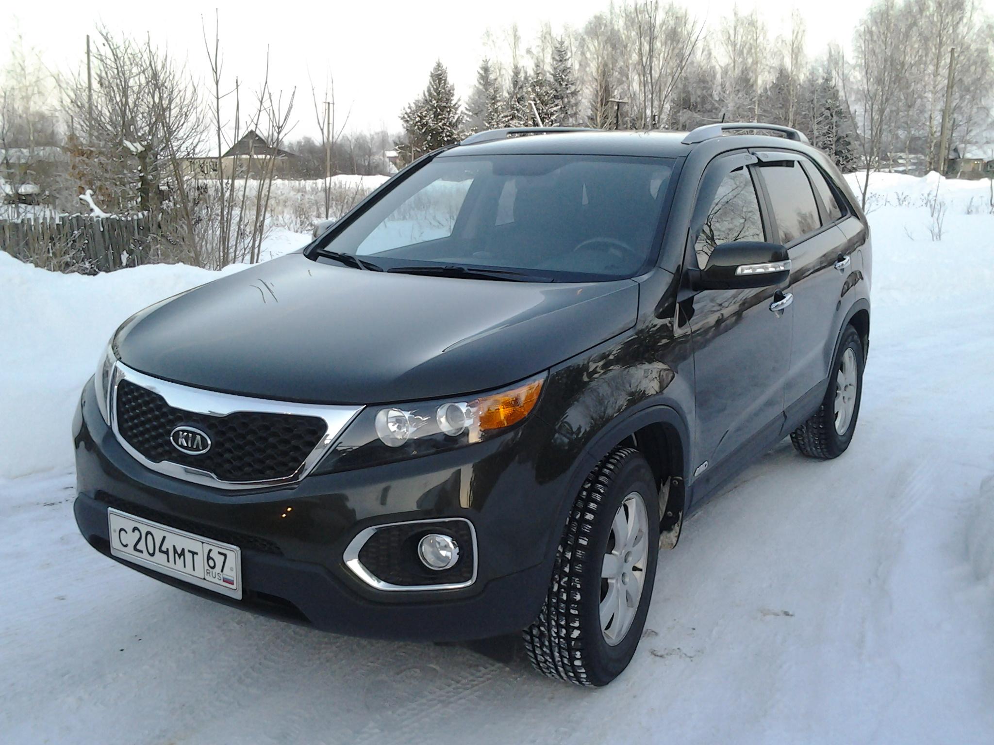Kia sorento ii 2 5 crdi at 170 hp на авто ру