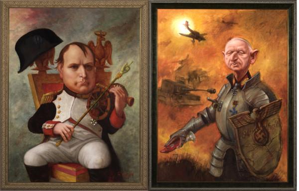Bonaparte-Manstein-Caricature