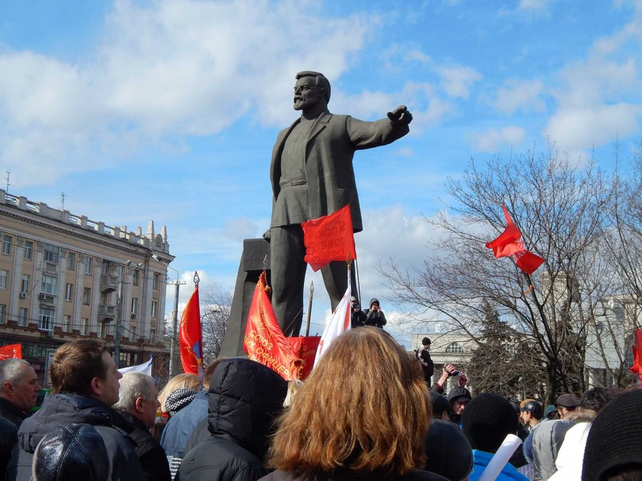 Флаги у петровского