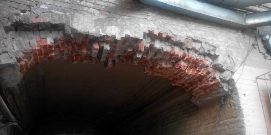 Щербатая челюсть арки