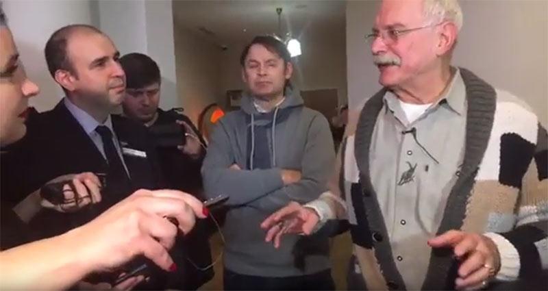 Никита Михалков в Ельцин Центре Видео