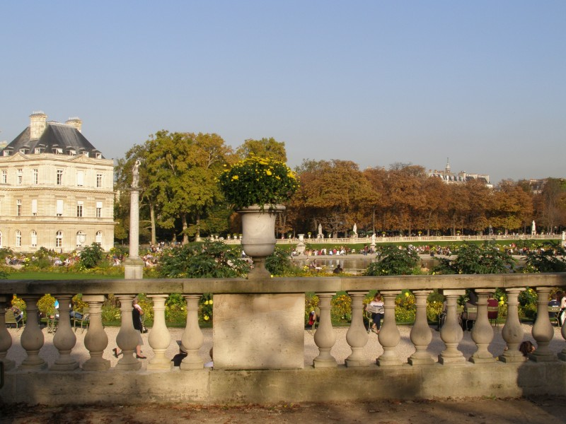Люксембургский сад, Париж.