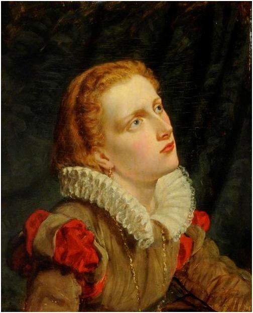 Charles Lucy. Мария, королева Шотландии