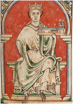 Иоанн Безземельный. Иллюстрация из рукописи. Фото: Википедия