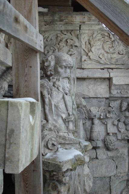 Церковь в дубровицах (деталь)