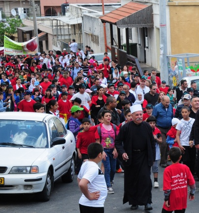 muslims-christians-druze-jews-march-against-drugs-in-isfiya-israel