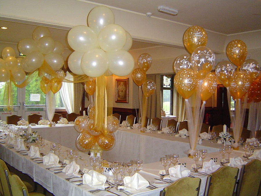 Оформление залов шарами своими руками
