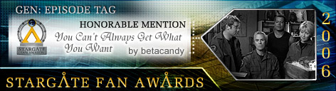 Stargate Fan Award