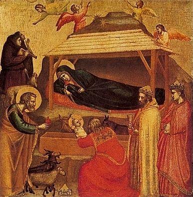 800px-Giotto._Nativitу. Джотто