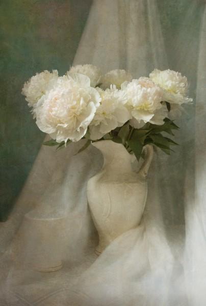 Ната Артамонова. фото Н-т с пионами. 2008