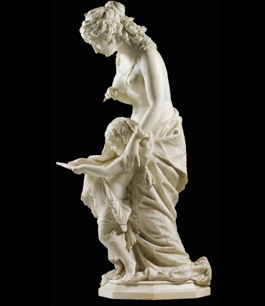 Pietro Guarnerio, La Vanita, 1879.