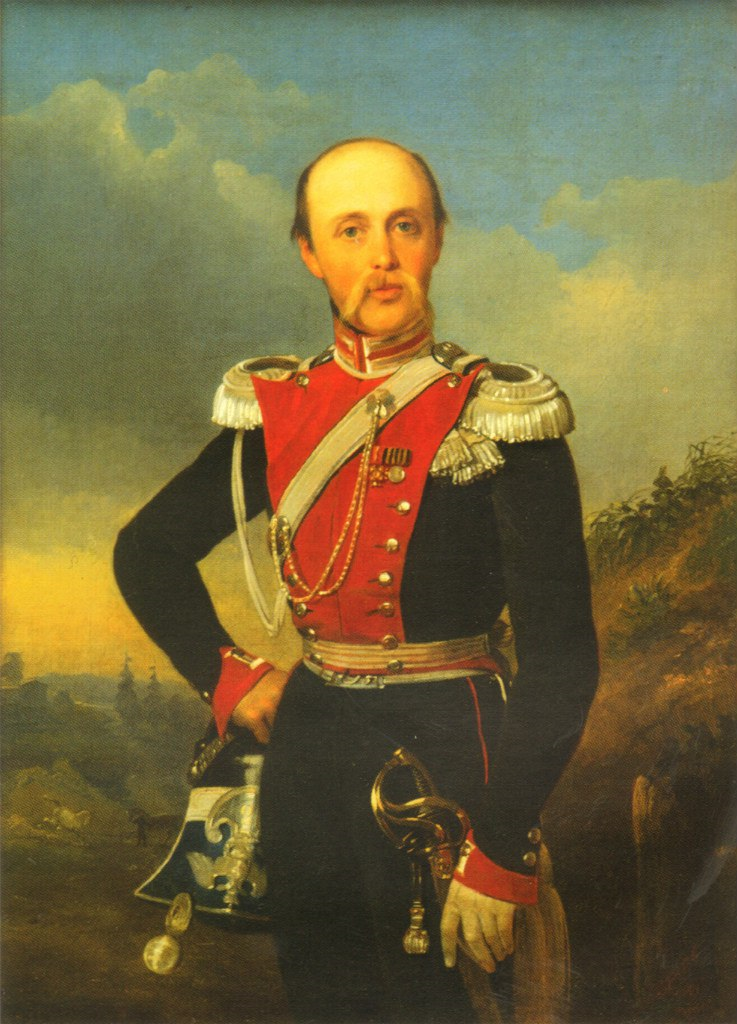Портрет Федора Петровича Глебова-Стрешнева работы неизвестного художника.