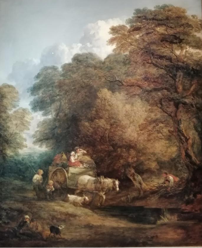 Томас Гейнсборо. Рыночная повозка. 1786. Национальная галерея, Лондон.