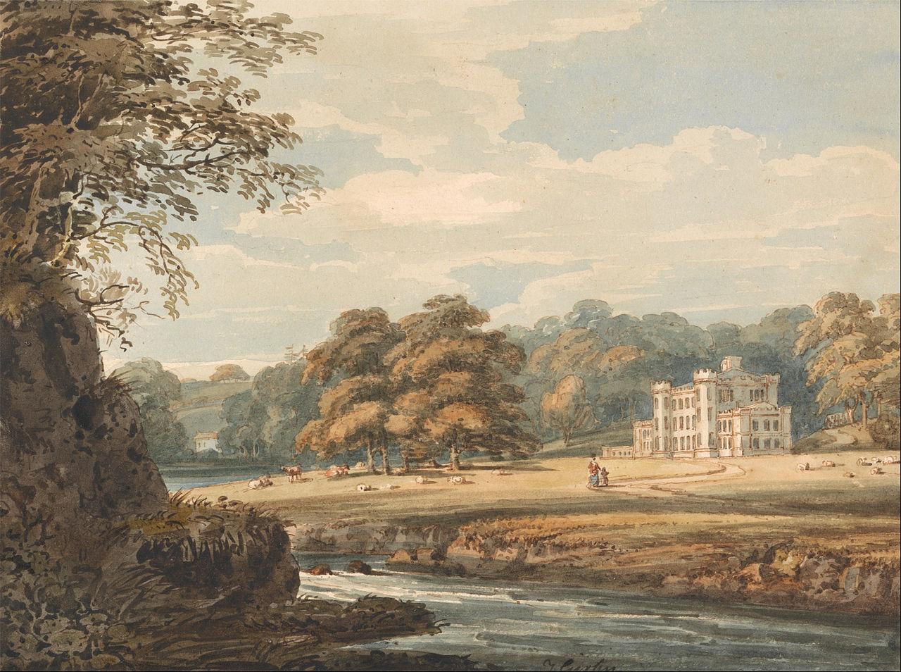 Томас Гёртин. Чалфонт Хаус. 1796.