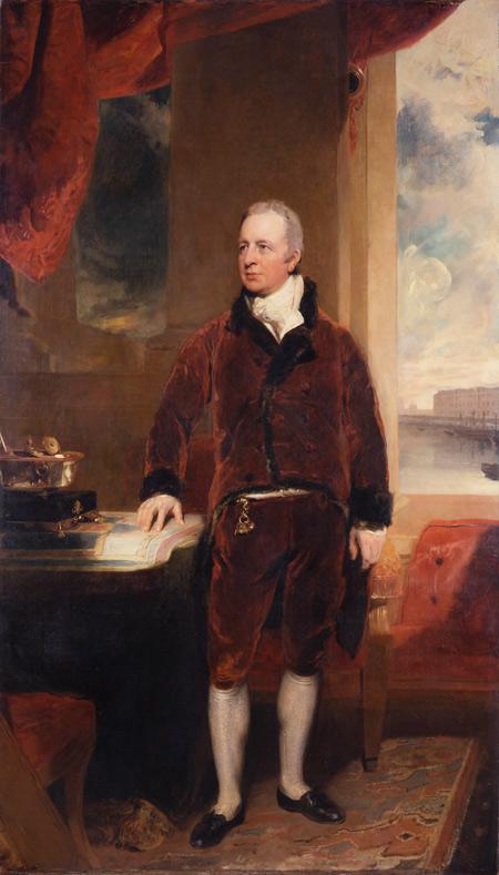 Томас Лоуренс. Портрет Георга Хибберта. 1811