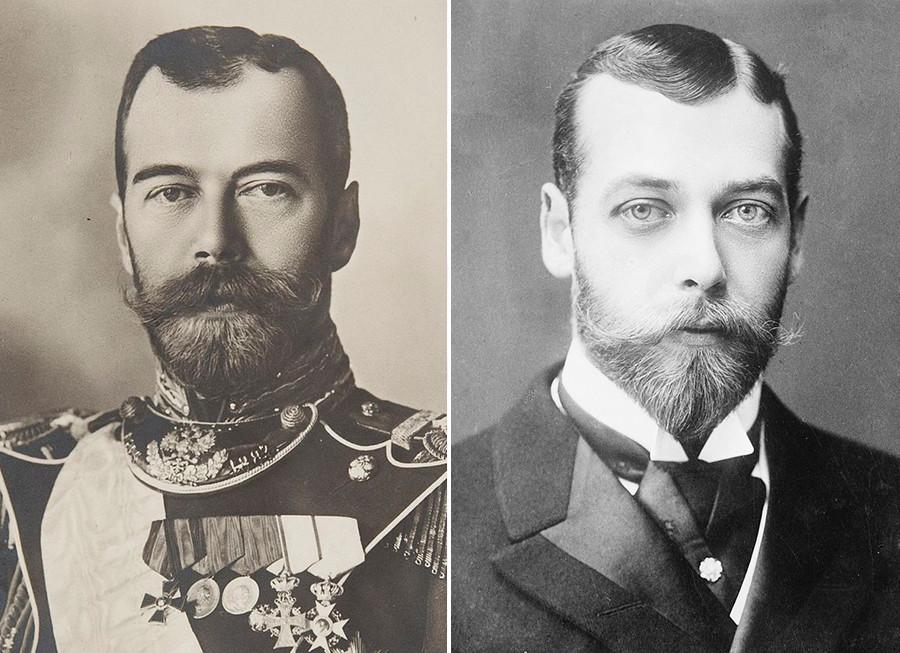 Два венценосных брата: Николай II и Георг V