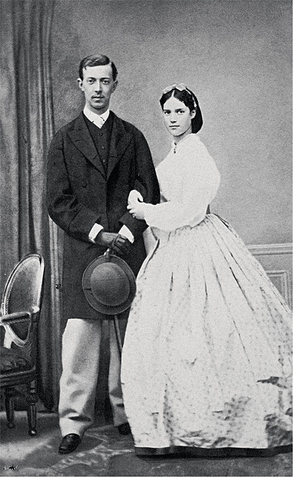 Несостоявшиеся супруги: цесаревич Николай Александрович и принцесса Дагмар.