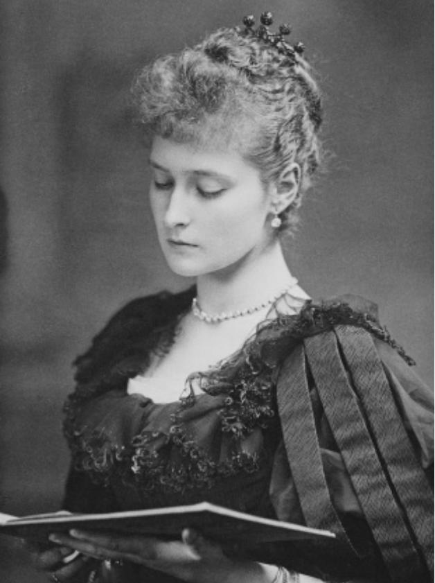 Принцесса Аликс Гессенская до замужества