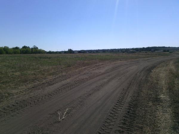 Дорога по которой укры убегали из Иловайска