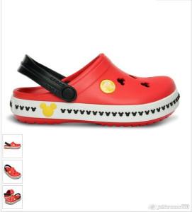 2015-07-18_16-19_Crocs Red & Black Mickey