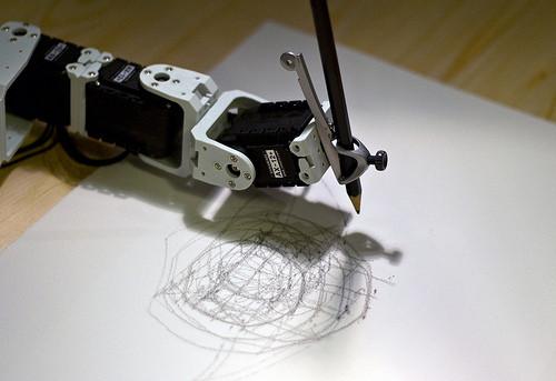 роботы худождники