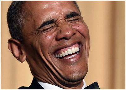 Обама счастлив