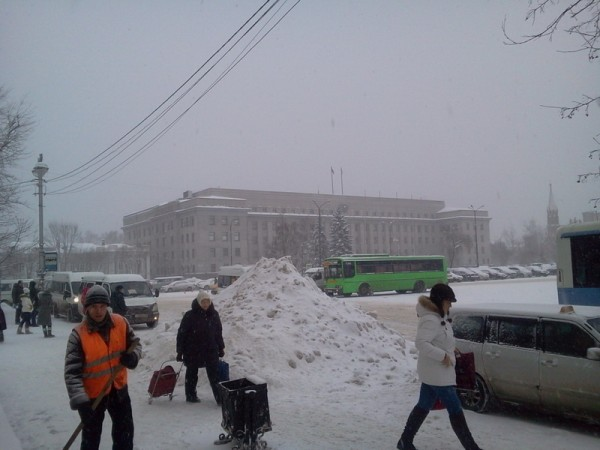 Снегопад 1