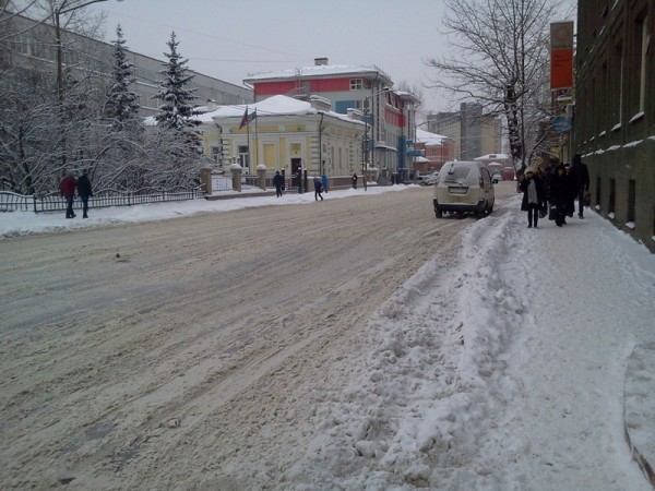Снегопад 4