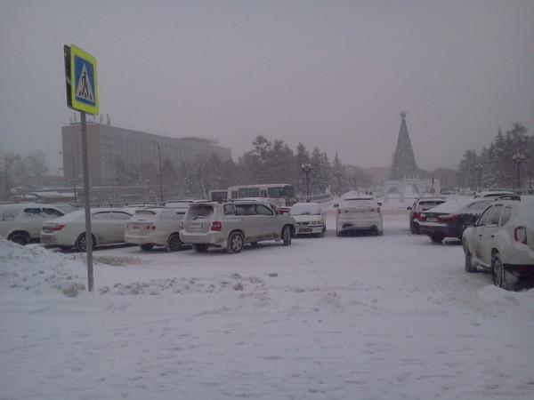 Снегопад 6