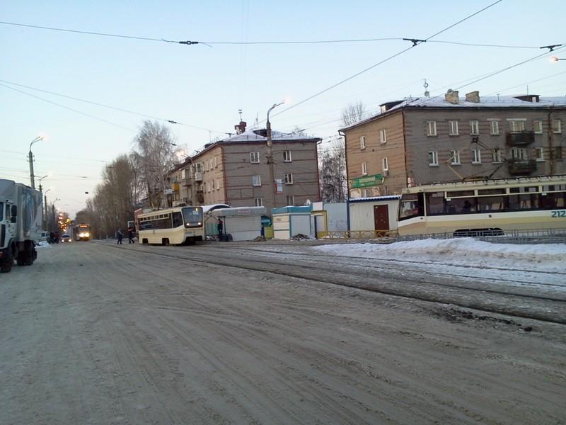 3 трамвай