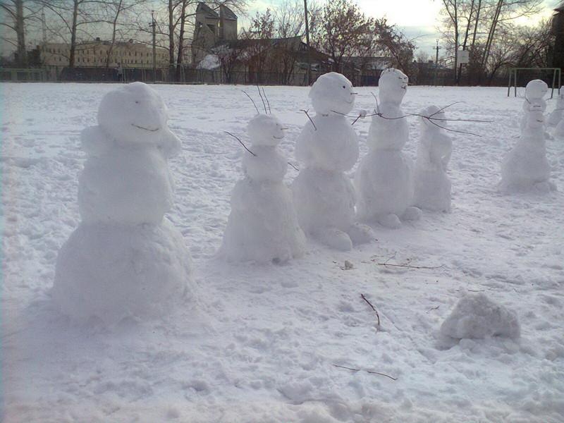 снеговики1