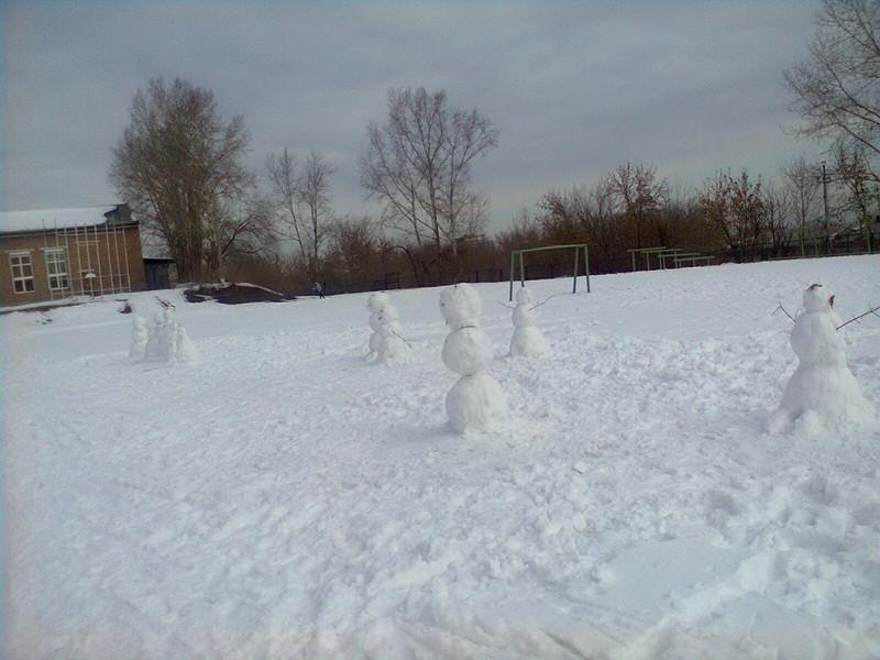 снеговики2