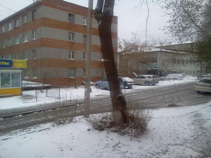 зима в иркутске