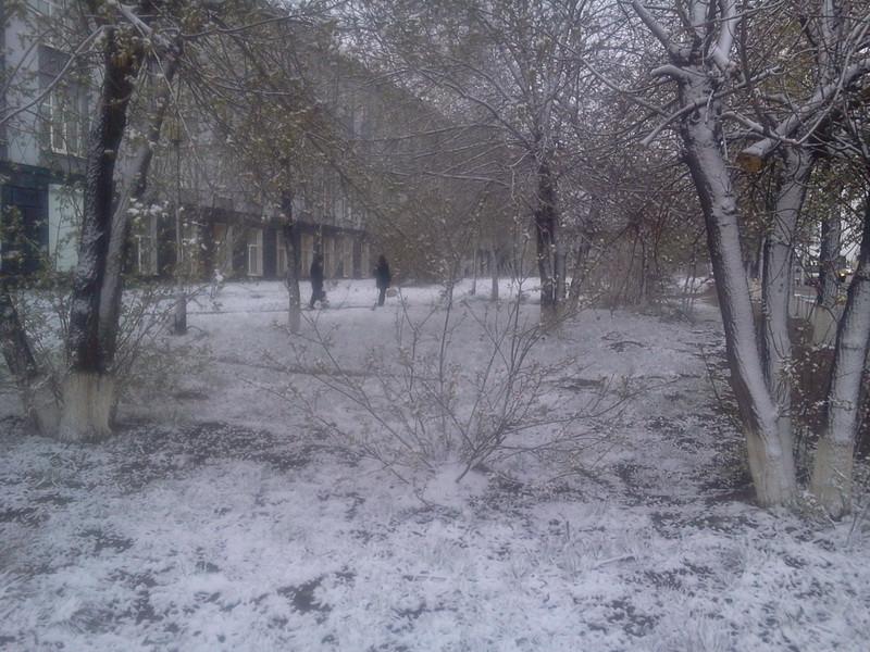 снег 12 мая