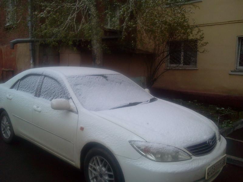 снег 12 мая 1