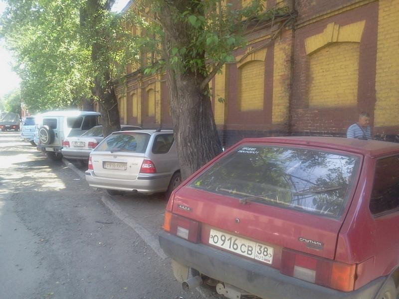 парковка 4