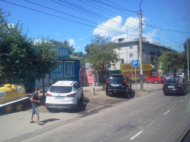 парковка на газоне свердловский рынок
