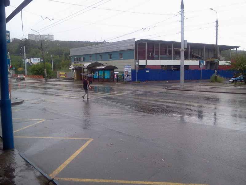 в дождь 1