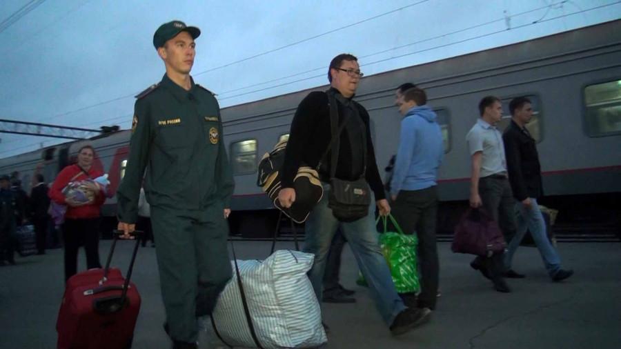 Поезд с беженцами2