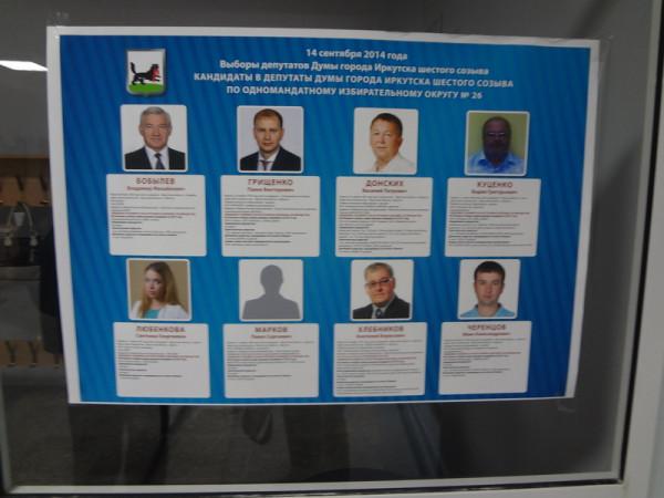 Выборы в Думу Иркутска
