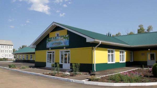 Детский сад в селе Нукуты_