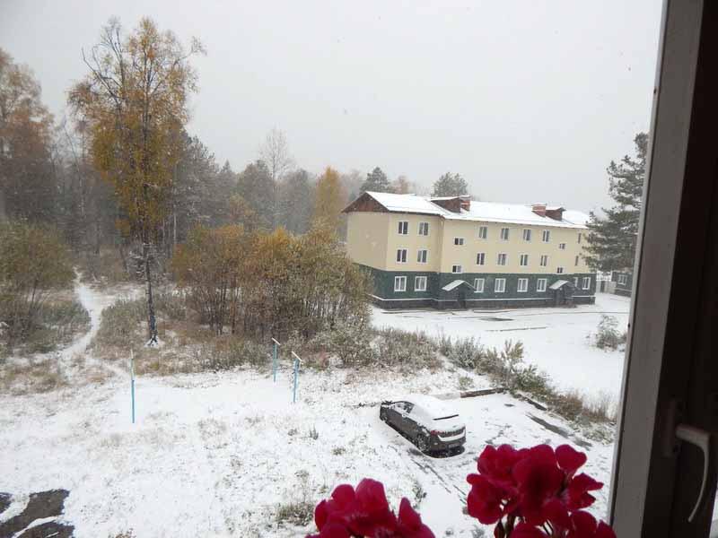 байкальск снег